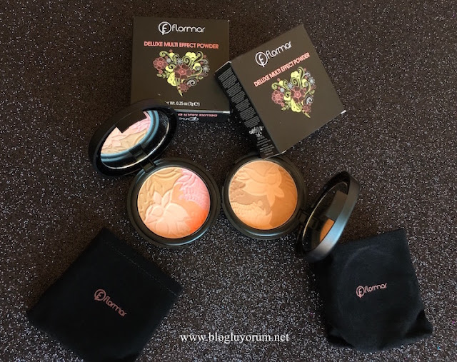 flormar deluxe multi effect powder DM01 DM02