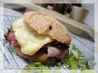 Hamburger montagnerd à la raclette