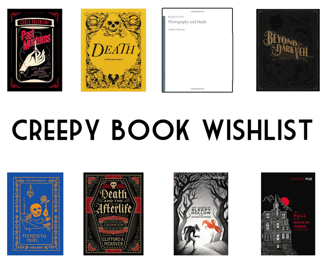 Creepy spooky Halloween books