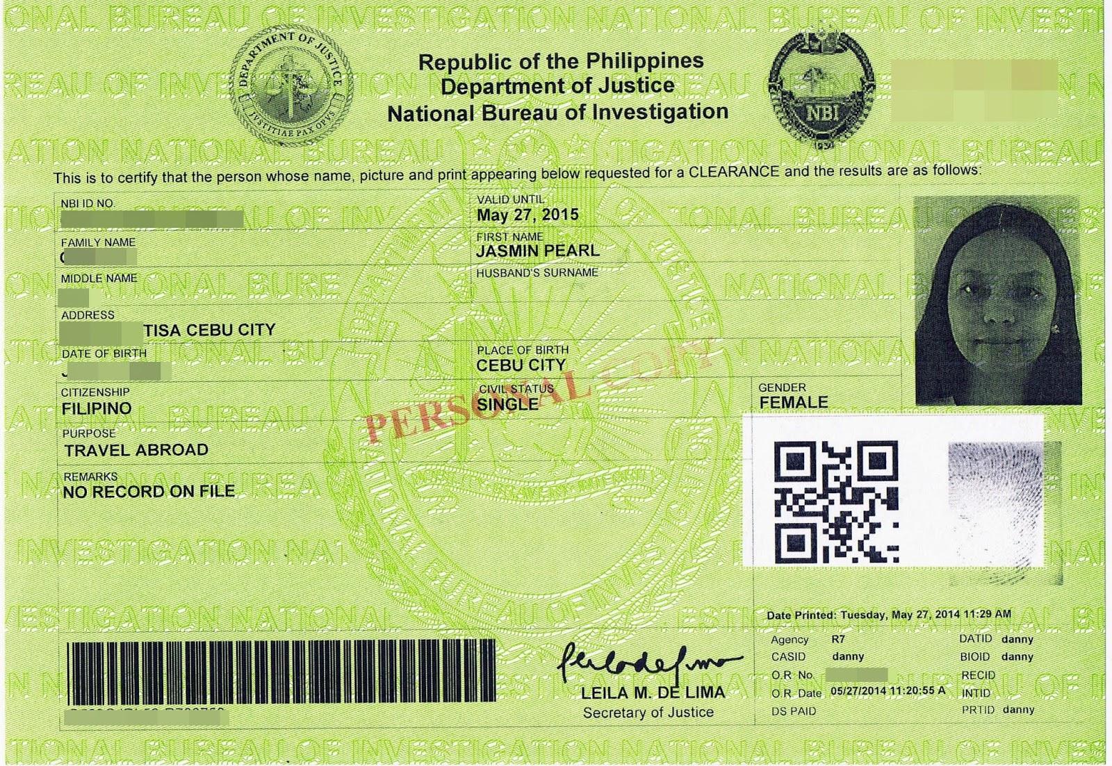 Jasmin Just Wanna Share How To Get Barangay Clearance