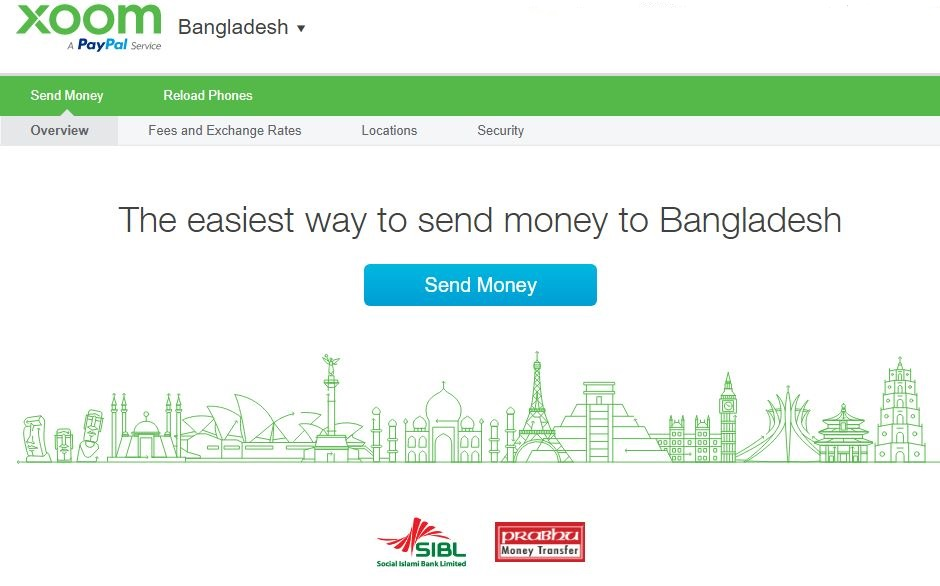 Xoom - A PayPal Service   How to Receive Money in Bangladesh