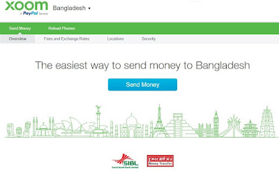 Xoom - A PayPal Service | How to Receive Money in Bangladesh from US