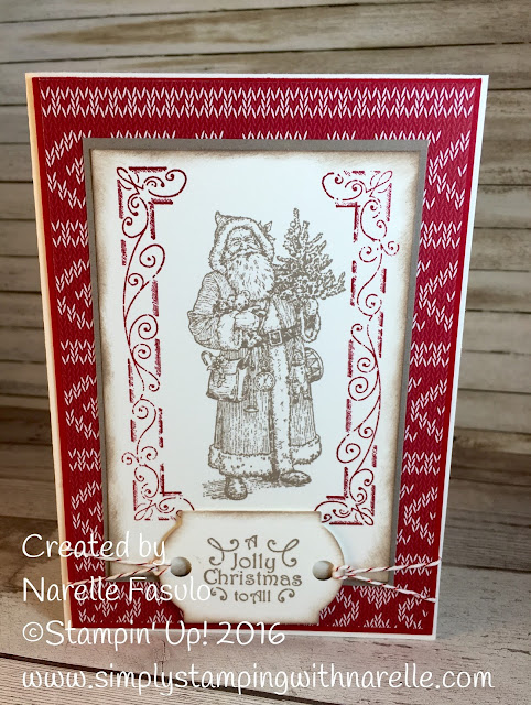 Father Christmas - Simply Stamping with Narelle - available here - http://www3.stampinup.com/ECWeb/ProductDetails.aspx?productID=142125&dbwsdemoid=4008228