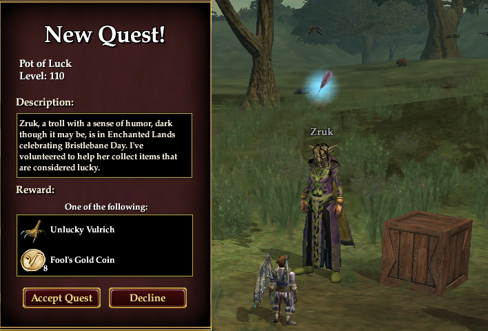 Inventory Full: Fool's Gold: EQ2