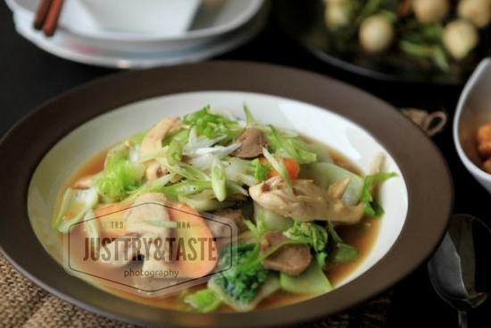 Resep Capcay Sayur dan Ayam