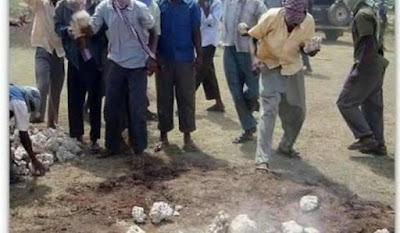 Woman Stoned To Death For Having 11 Husbands