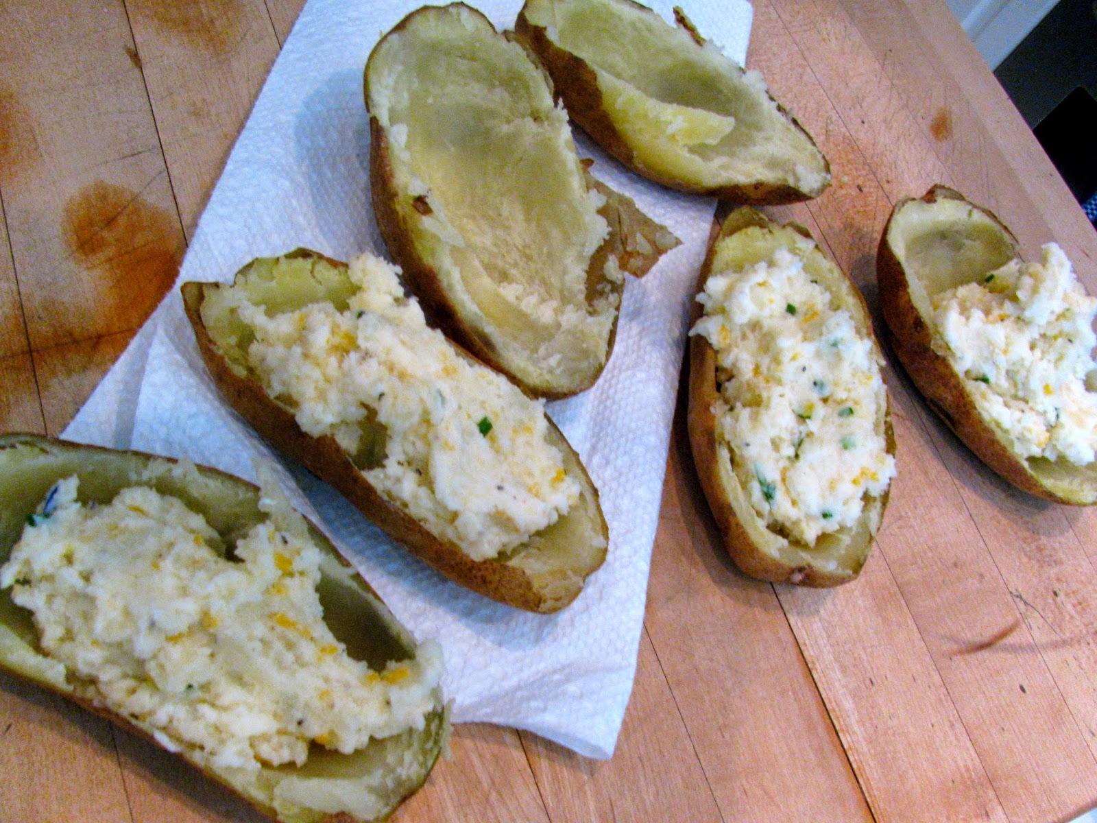 Rita S Recipes Potato Boats Twice Baked Potatoes