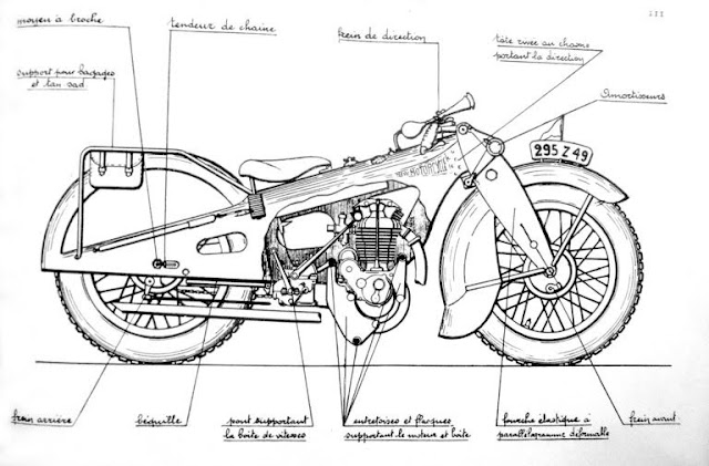 Georges Roy New Motorcycle