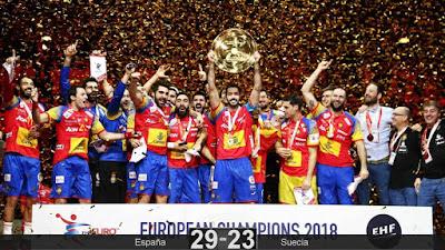BALONMANO - Campeonato de Europa masculino 2018 (Croacia): España es la nueva reina de Europa