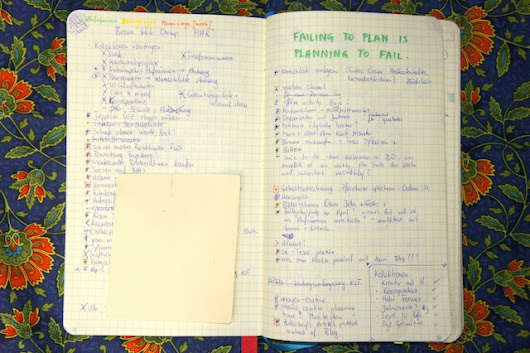 Wo beginnen beim Bullet Journal?