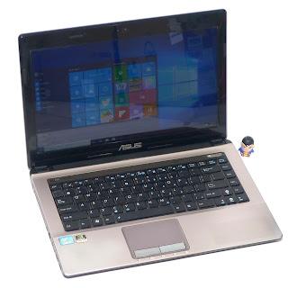 Laptop Gaming ASUS A43S NVIDIA Di Malang