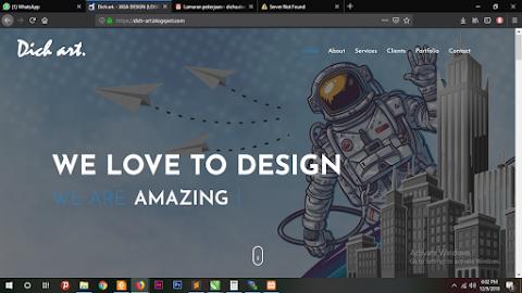 [TEMPLATE]  Blog Dich Art 2017 re-design