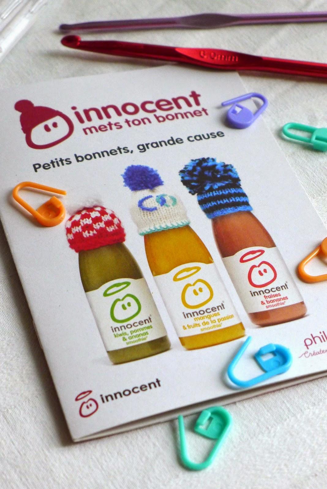 livraison gratuite éclatant acheter pas cher Des mini bonnets avec Innocent! | Recettes pour mon bentô