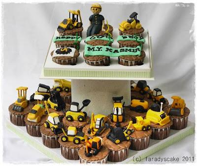 Excavator Cake Ideas