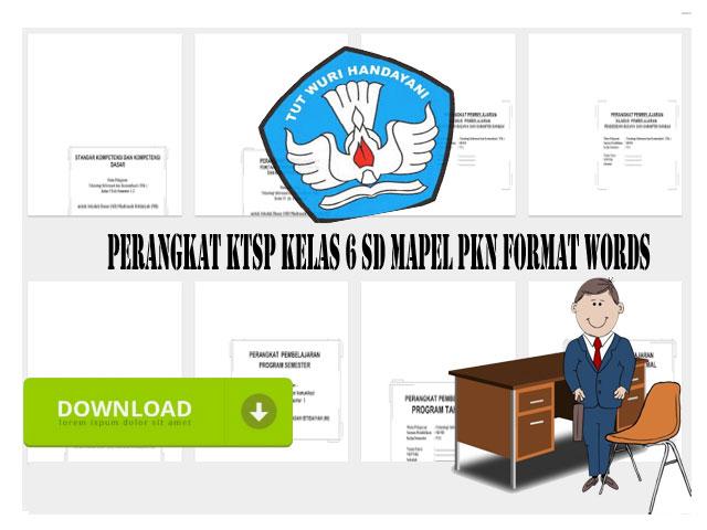 Perangkat KTSP Kelas 6 SD Mapel PKn Format Words