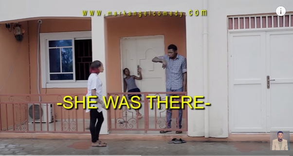 MarkAngel comedy - she was there