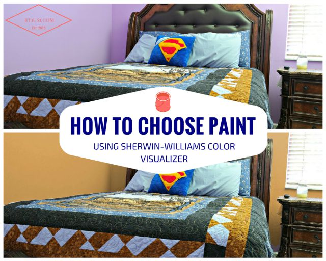 how to choose a paint color using Sherwin-Williams Color Visualizer
