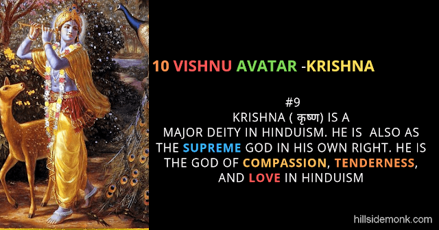 10 Vishnu Avatar In Hinduism-KRISHNA