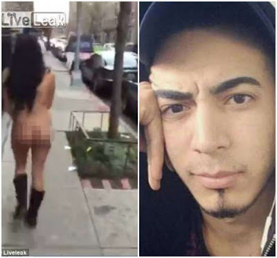 Condenan a siete años dominicano que sacó mujer desnuda a la calle en New York