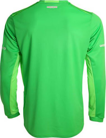 dd33f2273 The new West Ham United 2015-2016 Goalkeeper Strip combines different  shades of green and features a unique graphic print on the front.