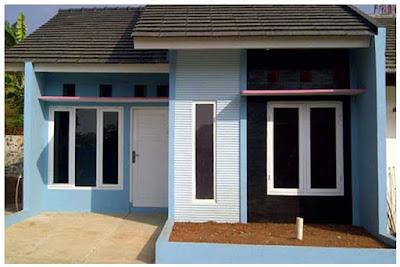 Bentuk Rumah Sederhana Tapi Elegan 1 lantai