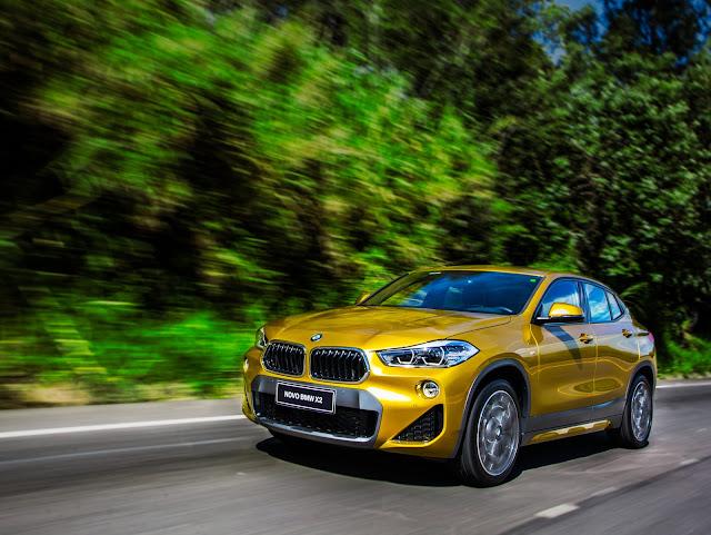 Novo BMW X2 começa a ser vendido no Brasil