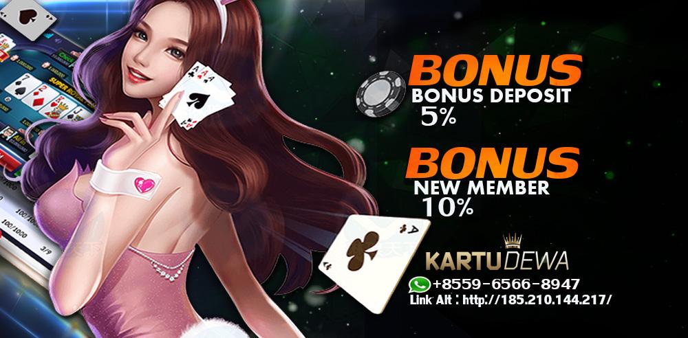 Kartu Dewa | Agen Poker & Bandar Ceme Online Terpercaya di