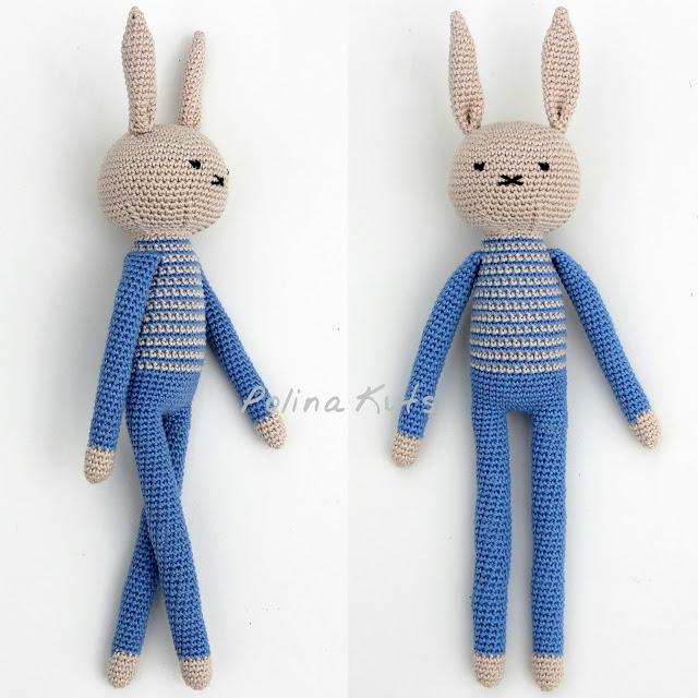 Préférence Amigurumi Crochet Rabbit-Free Pattern - Amigurumi Free Patterns PS22