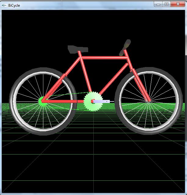 Membuat Sepeda 3d Dengan Opengl C Projek Animasi