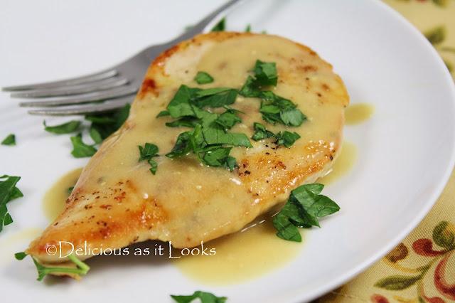 Chicken Dijon (Gluten-Free & Low-FODMAP)  |  Delicious as it Looks