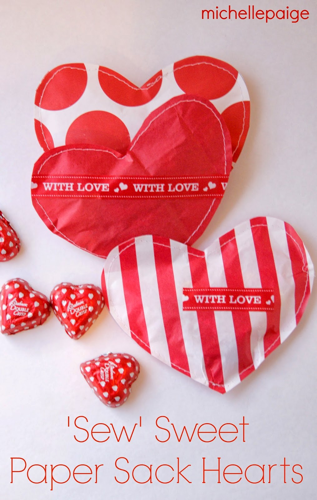 Sew Sweet Paper Hearts