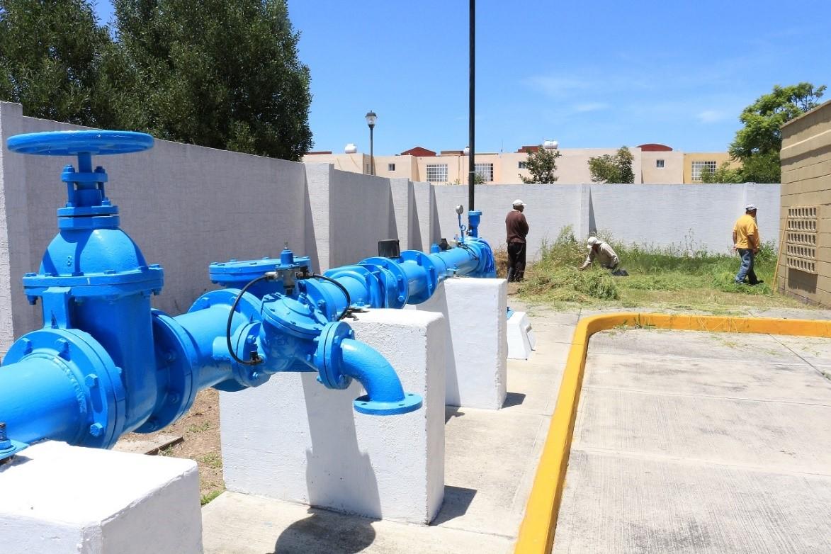 El mexiquense hoy mejoran abastecimiento de agua potable for Agua potable