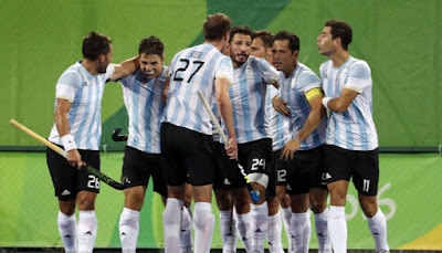 Argentina Wins First Olympic Men's Hockey Gold Medal Over Belgium at Rio