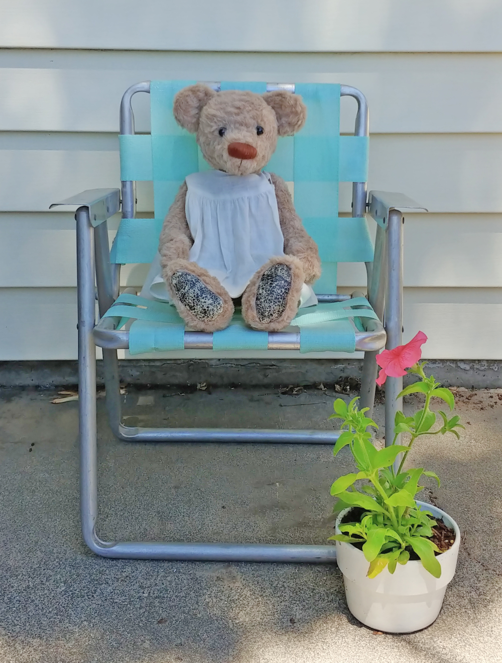 how to makeover a lawn chair