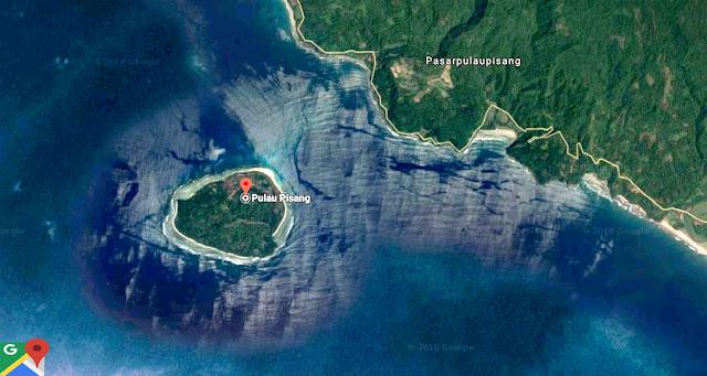 lokasi pulau pisang