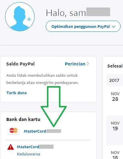 Paypal Terverifikasi Dengan Payoneer