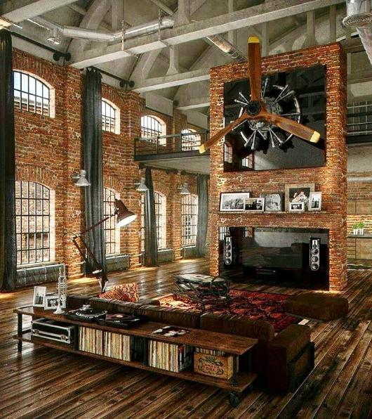 101 planos de casas los 20 dise os m s asombrosos de loft for Decoracion loft industrial