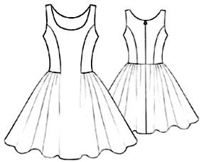 Moldes De Costura Vestidos