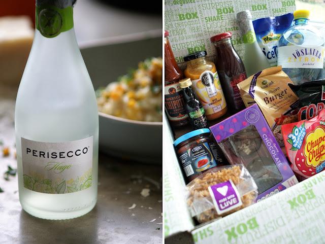 Kürbisrisotto mit Prosecco mit Degustabox | Augustbox 2017