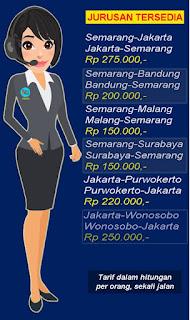 Travel Jakarta Semarang Bintang Raya