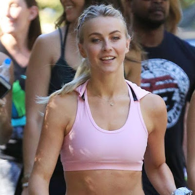 Julianne Hough Hiking at Fryman Canyon Park in LA