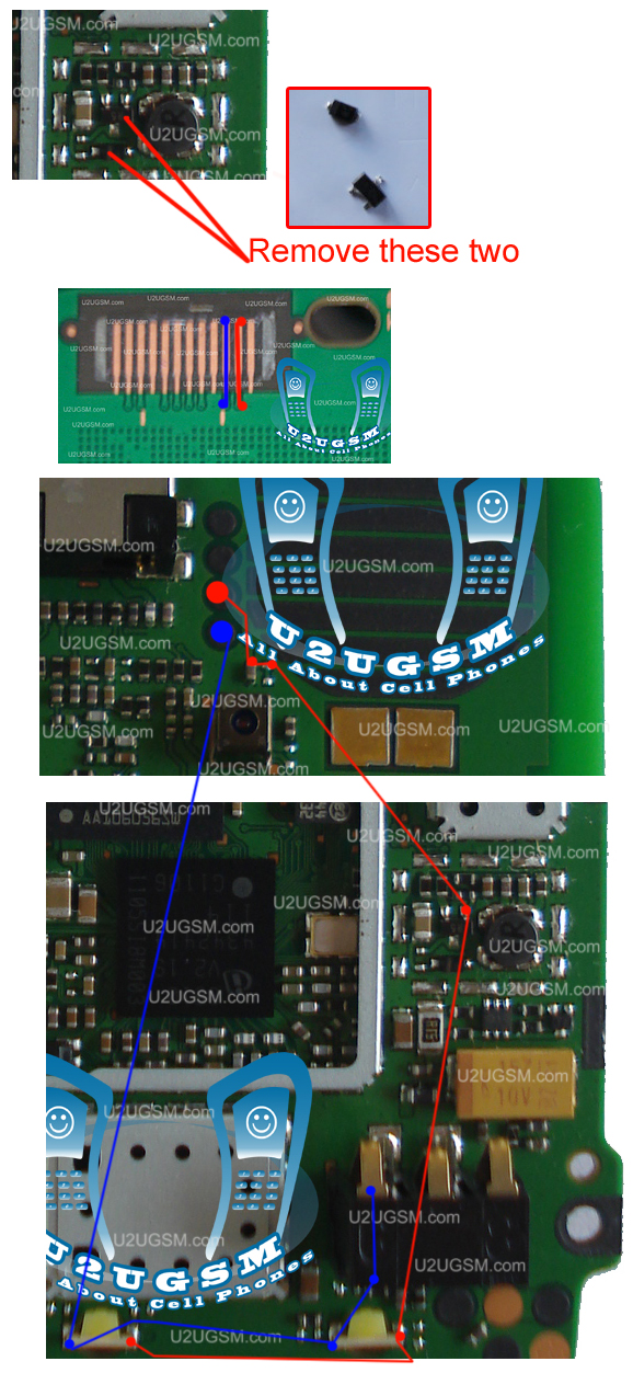 Cell Firmware: Nokia C101 Led Light Problem Solution Ways Jumpers