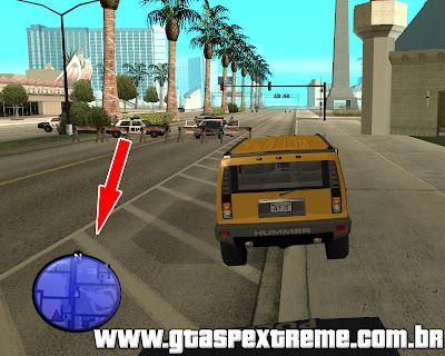 Polícia no Radar para GTA San Andreas