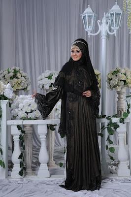 Model Gaun Pengantin Muslim