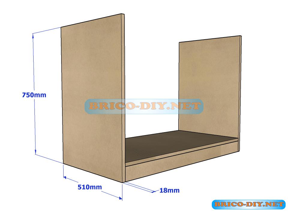 Muebles mdf para armar for Muebles de oficina para armar