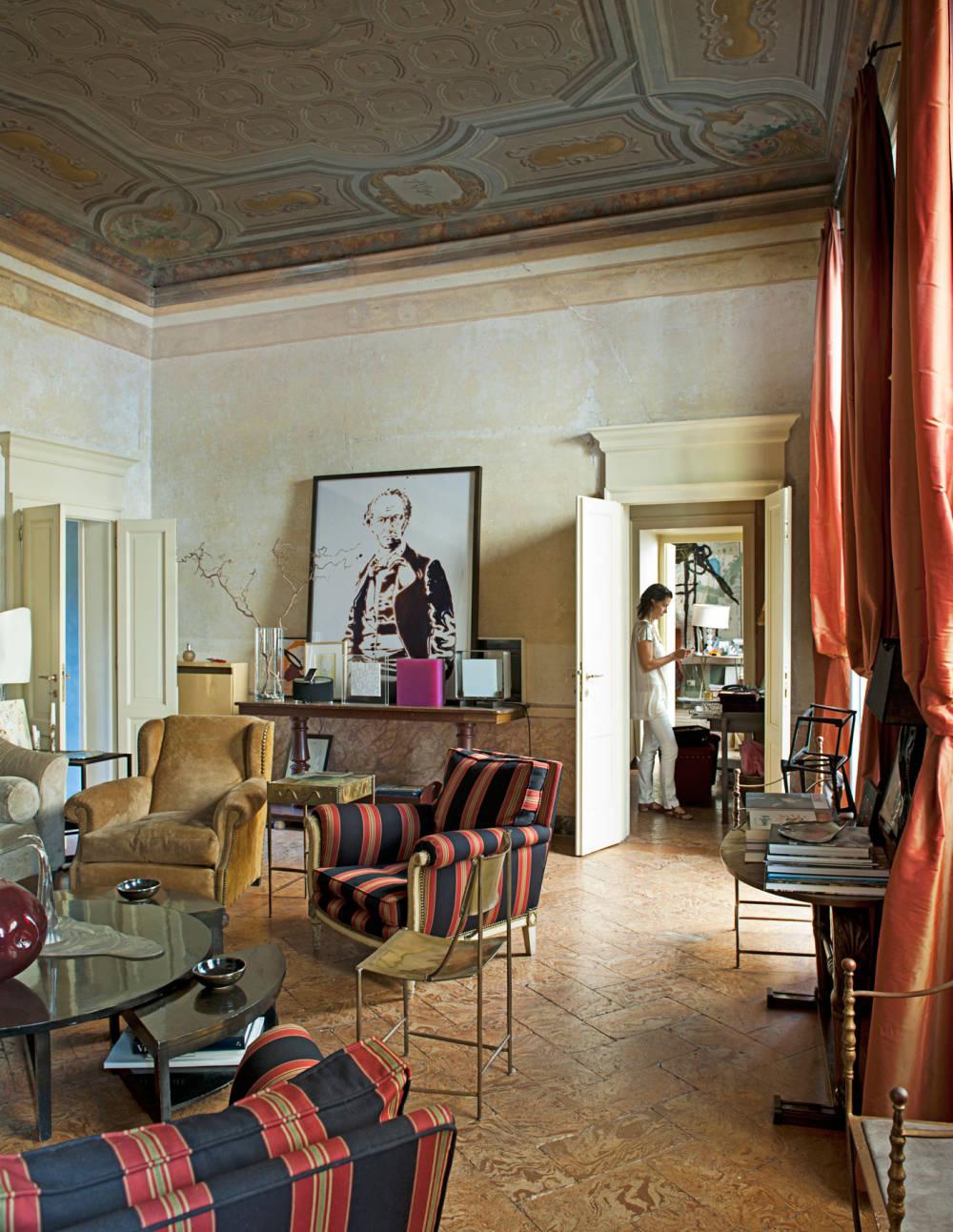 Decor inspiration at home with osanna visconti di modrone for Designer milano