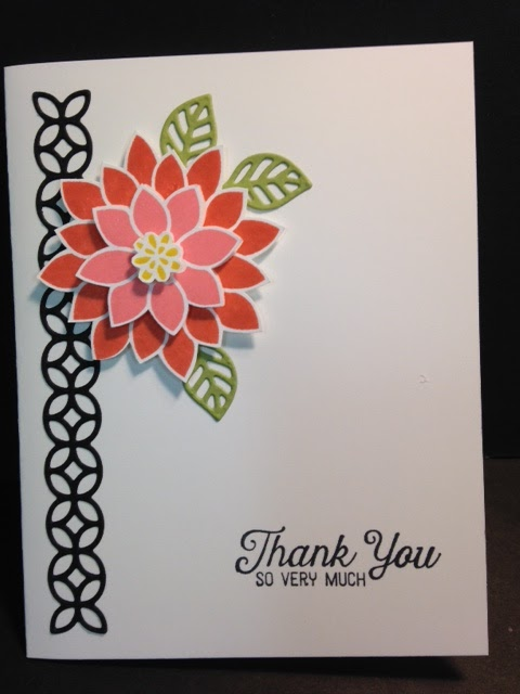 My Creative Corner A Flourishing Phrases Thank You Card