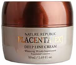 Nature Republic Placenta Deep Line Cream