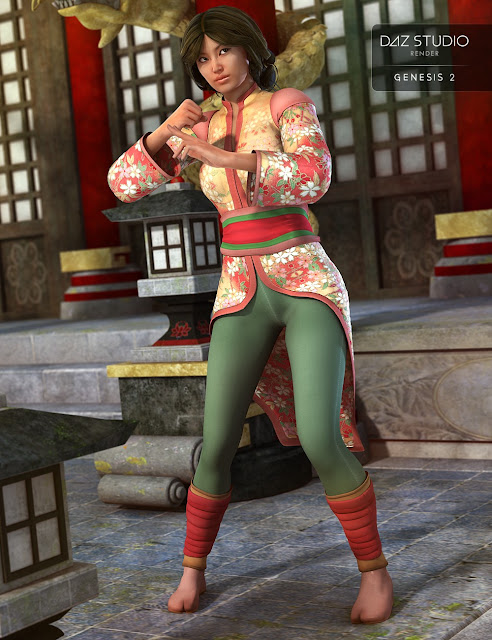 Ninja Chan for Genesis 2 Female