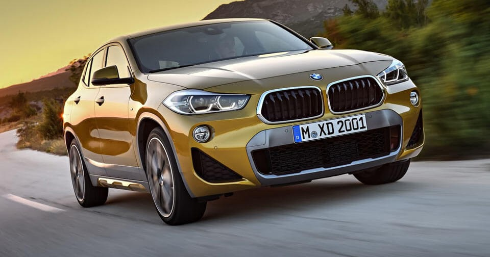 2018 bmw x2 priced from just under 40 000. Black Bedroom Furniture Sets. Home Design Ideas